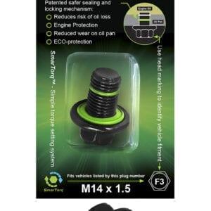 F3 - SMART-O Oil Drain Plug (Sump Plug)
