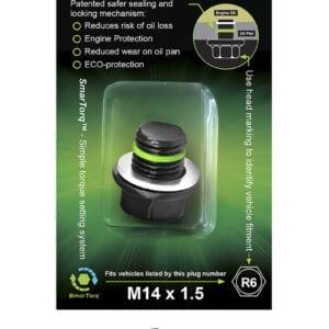 R6 - SMART-O Oil Drain Plug (Sump Plug)