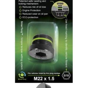 S18 - SMART-O Oil Drain Plug (Sump Plug)