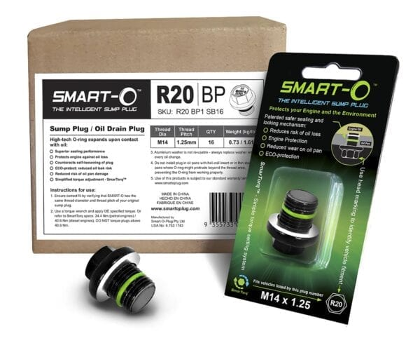 SMART-O Replenishment Box of 16 x R20BP1 Sump Plugs
